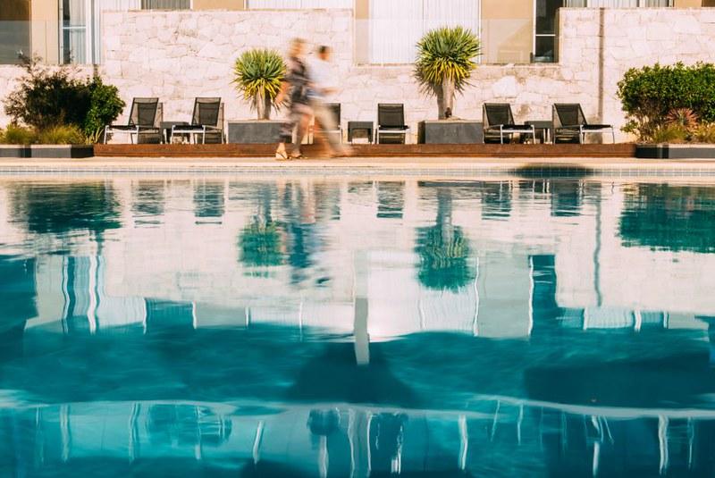 Costa Mesa architectural pool