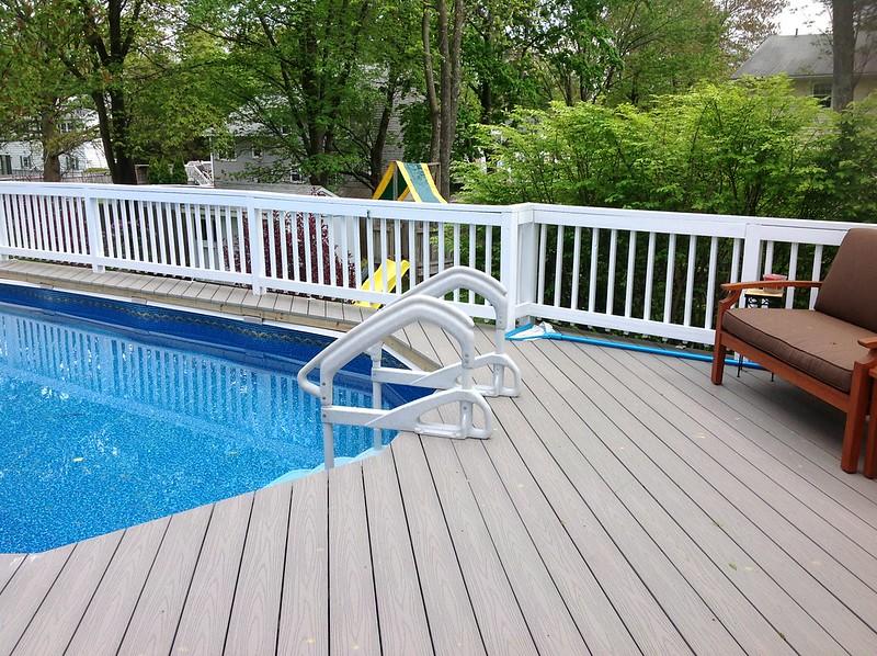 Huntington best pool materials