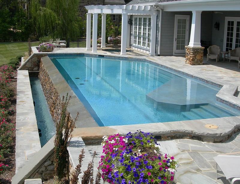 Costa Mesa custom built pool