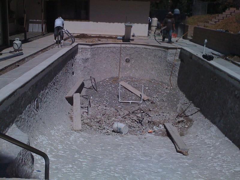 Huntington pool remodeling